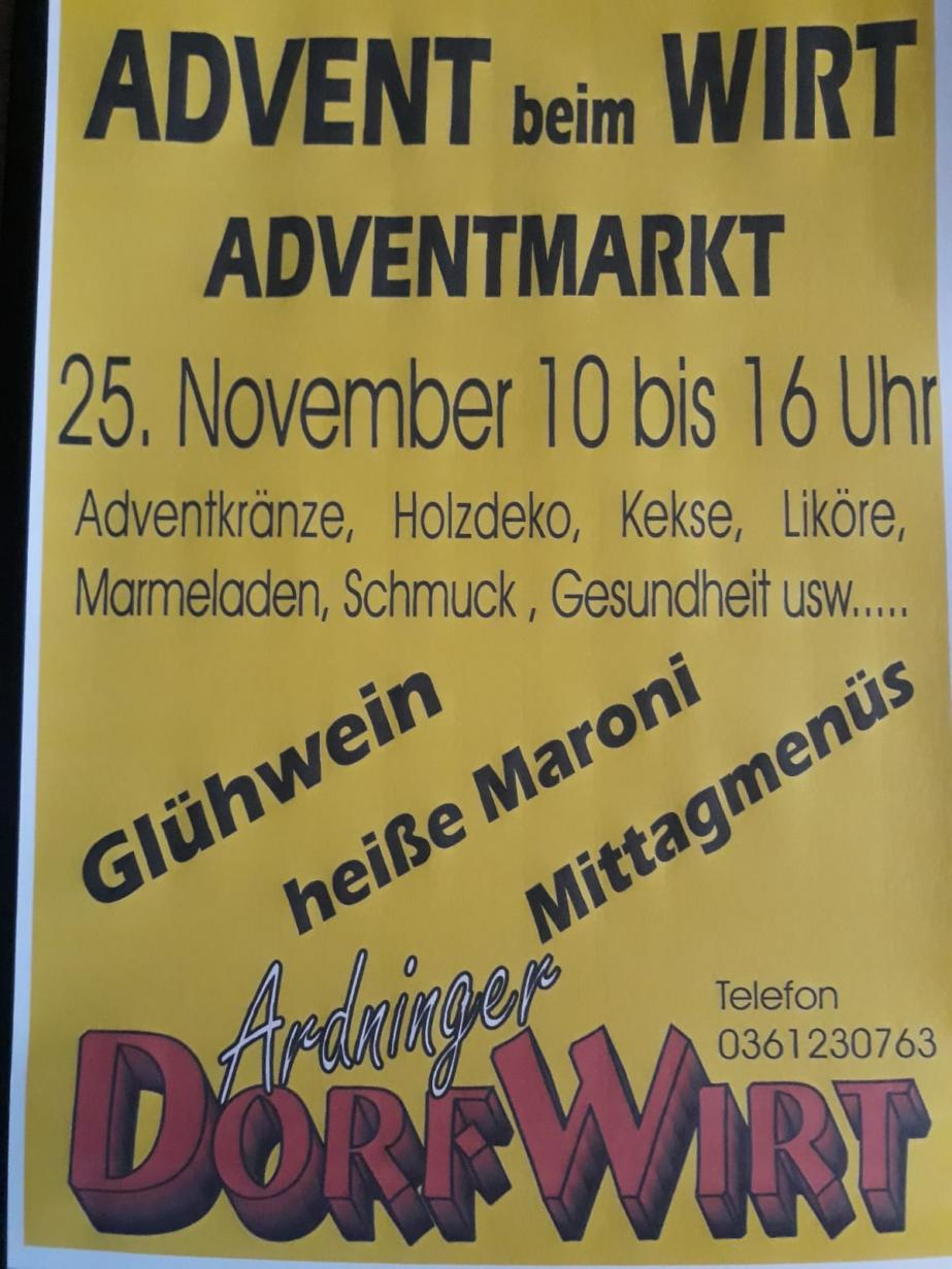 Advent beim Wirt